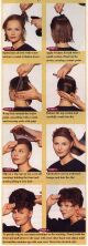Pictures of hair updos Scans from wig catalogs